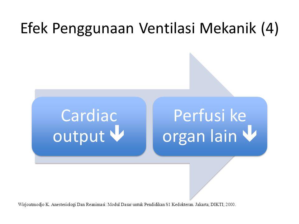 Efek Penggunaan Ventilasi Mekanik (4)