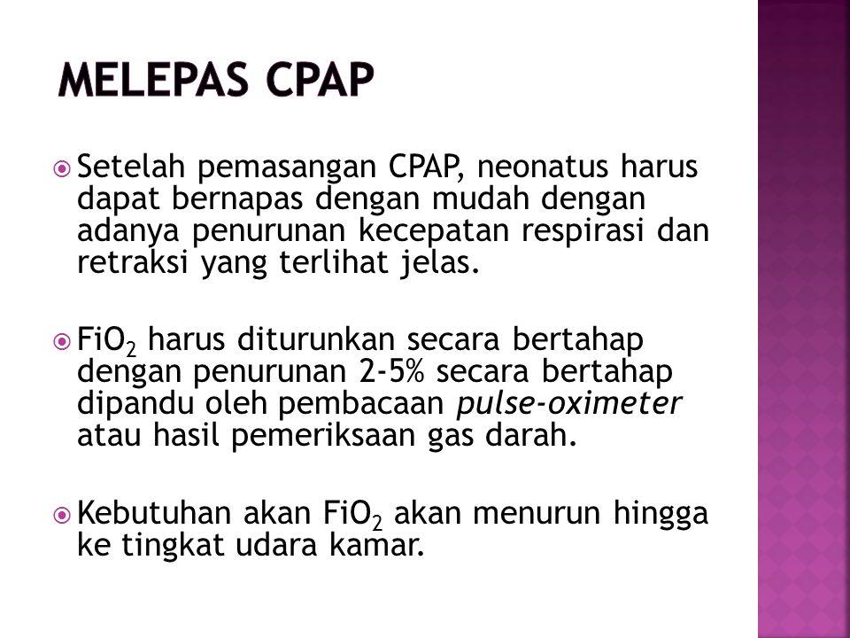 Melepas CPAP