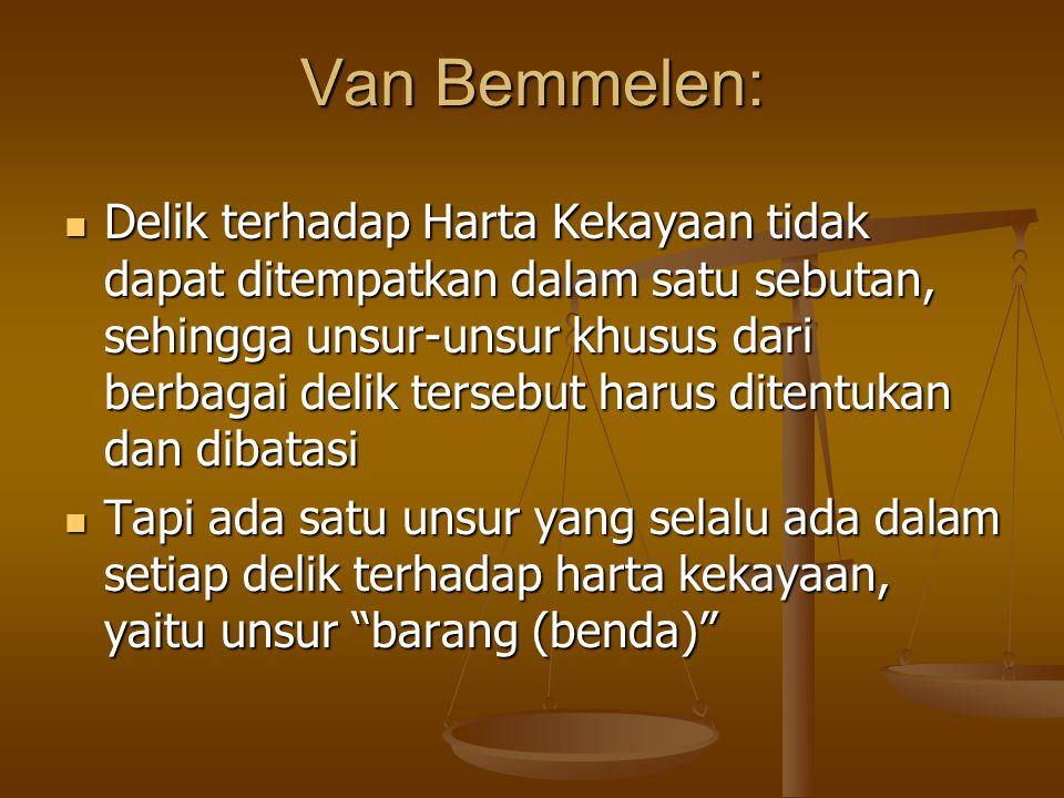 Van Bemmelen: