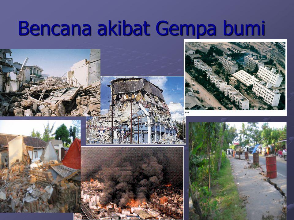 Bencana akibat Gempa bumi