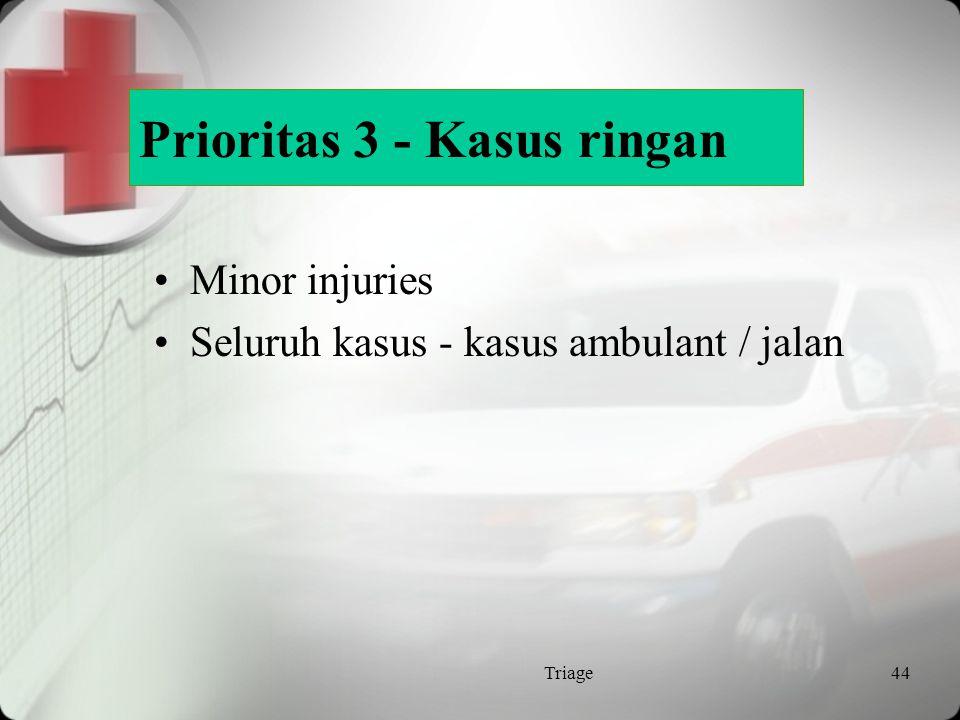 Prioritas 3 - Kasus ringan