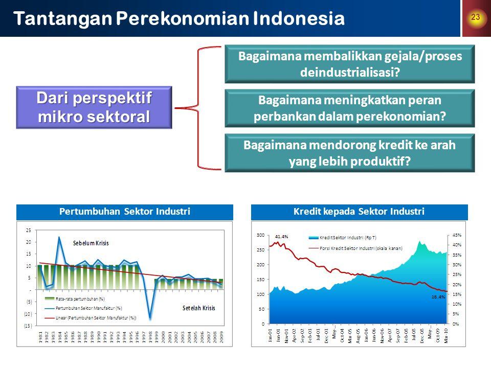 Tantangan Perekonomian Indonesia