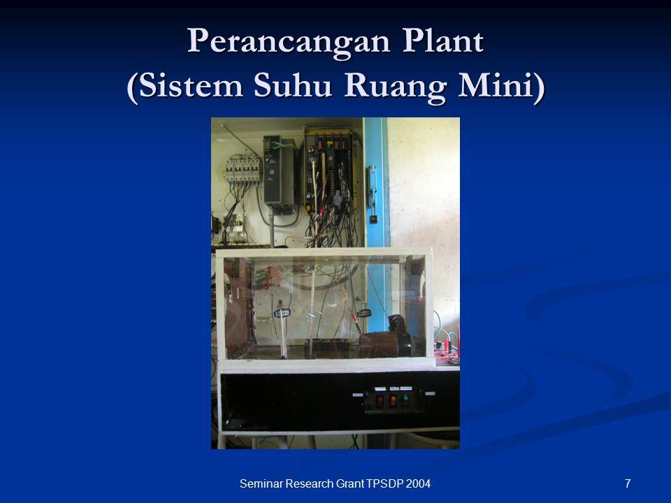 Perancangan Plant (Sistem Suhu Ruang Mini)