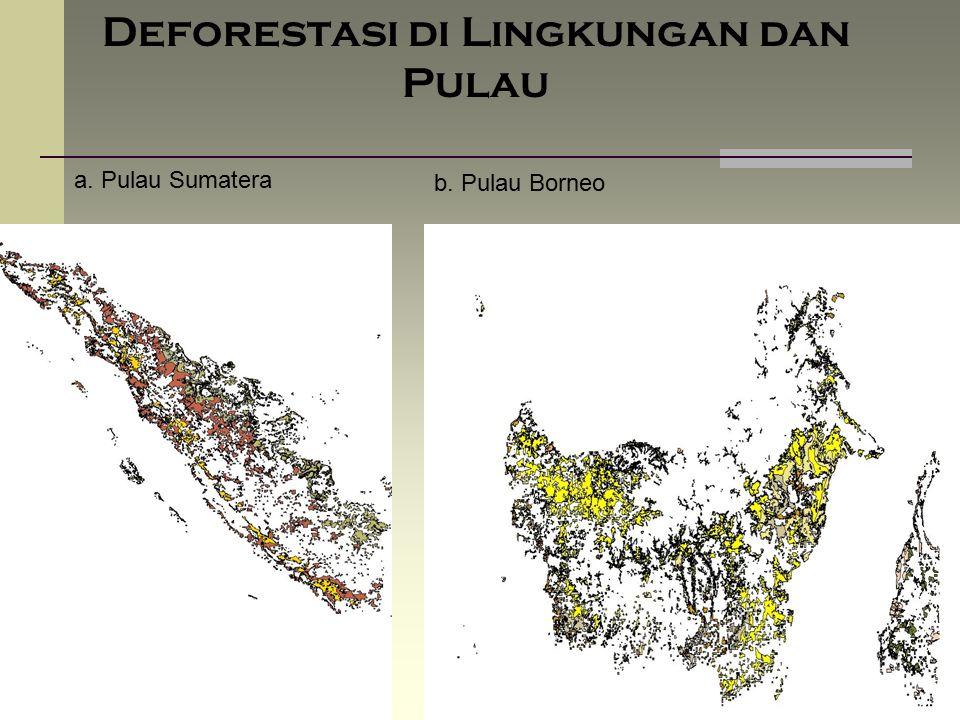 Deforestasi di Lingkungan dan Pulau