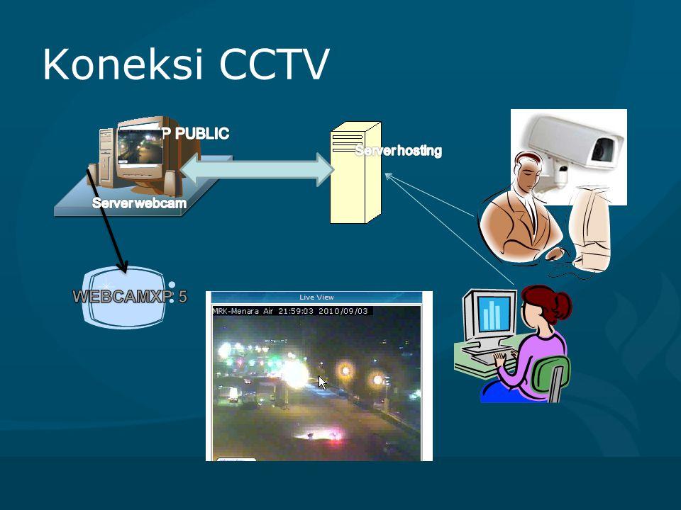 Koneksi CCTV IP PUBLIC Server hosting Server webcam WEBCAMXP 5