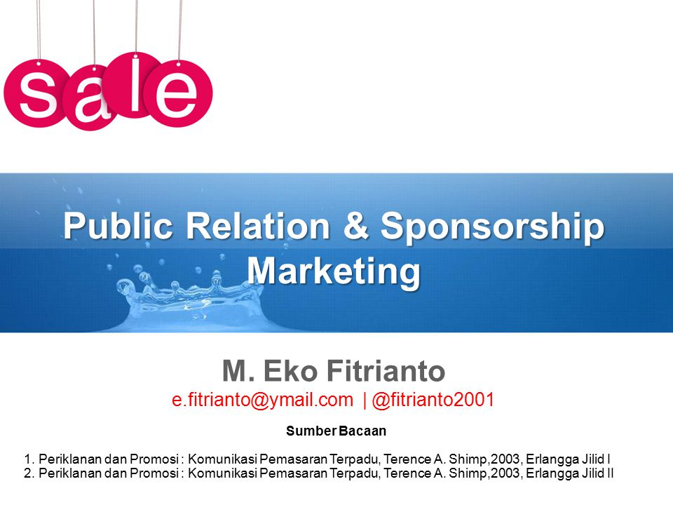 Public Relation & Sponsorship Marketing