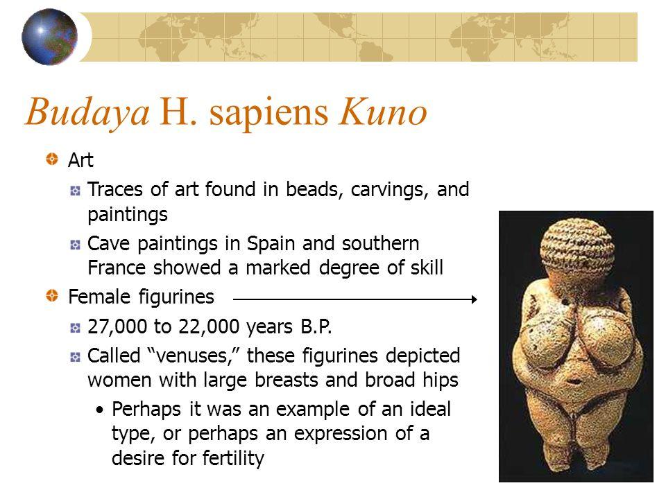Budaya H. sapiens Kuno Art
