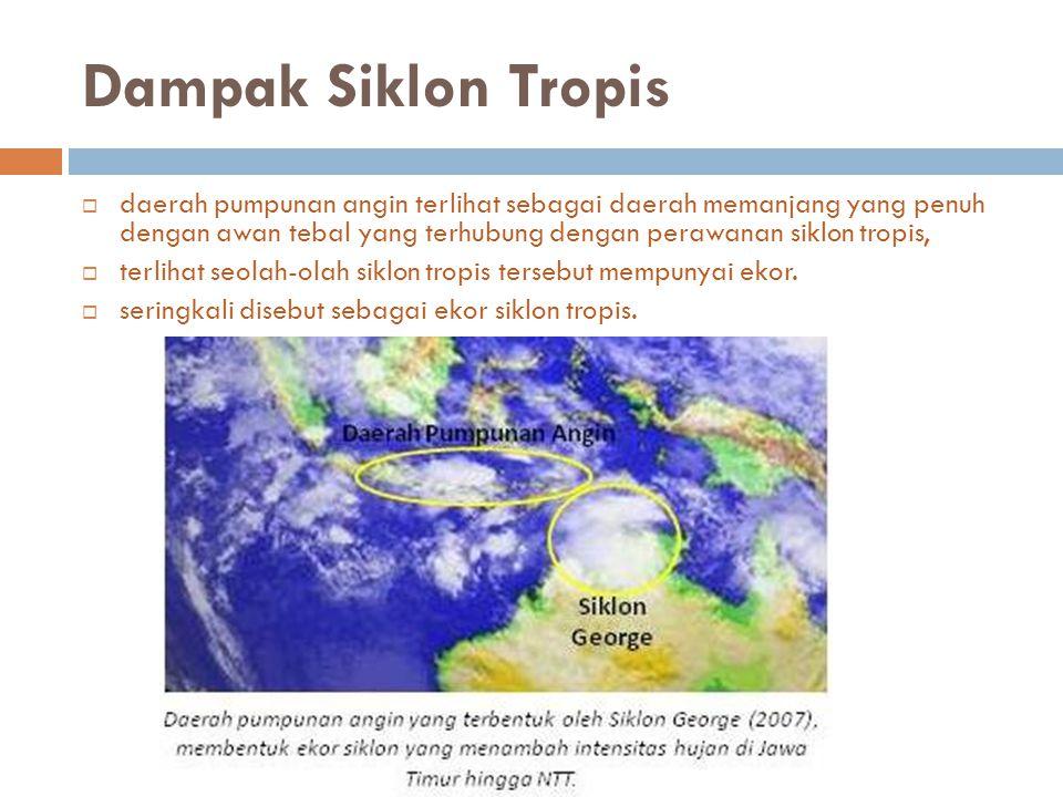 Dampak Siklon Tropis