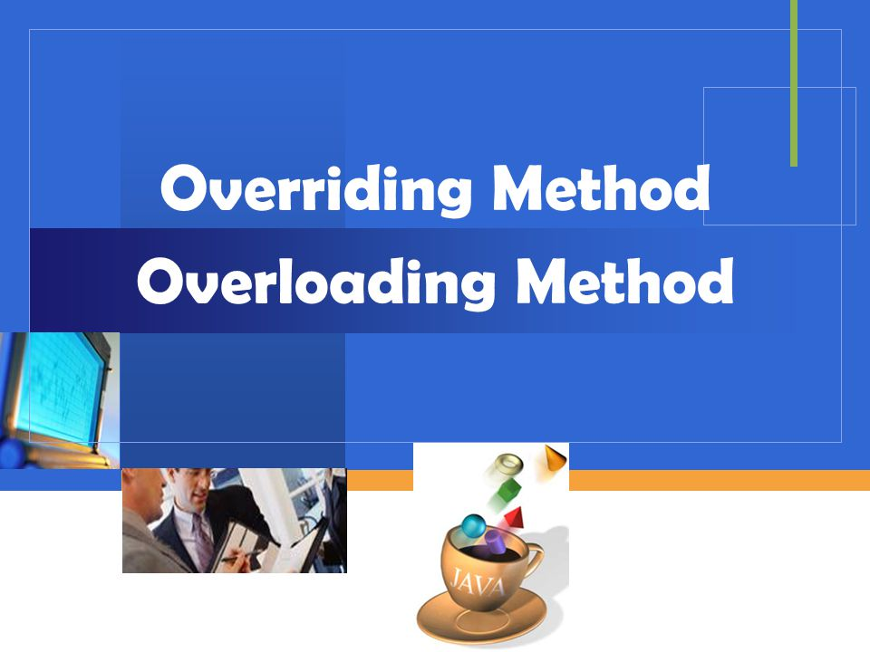 Overriding Method Overloading Method