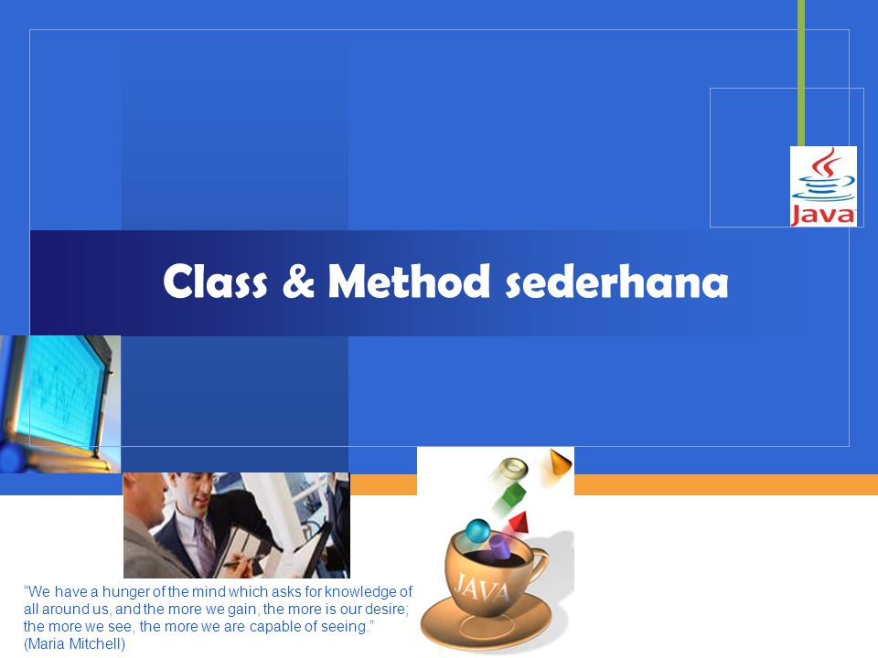 Class & Method sederhana