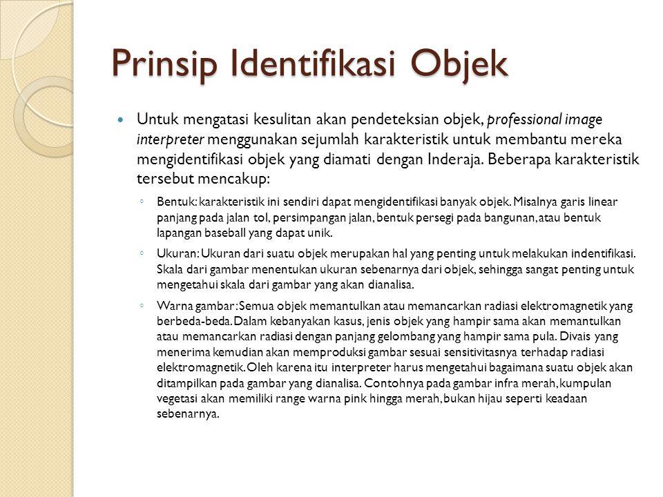 Prinsip Identifikasi Objek