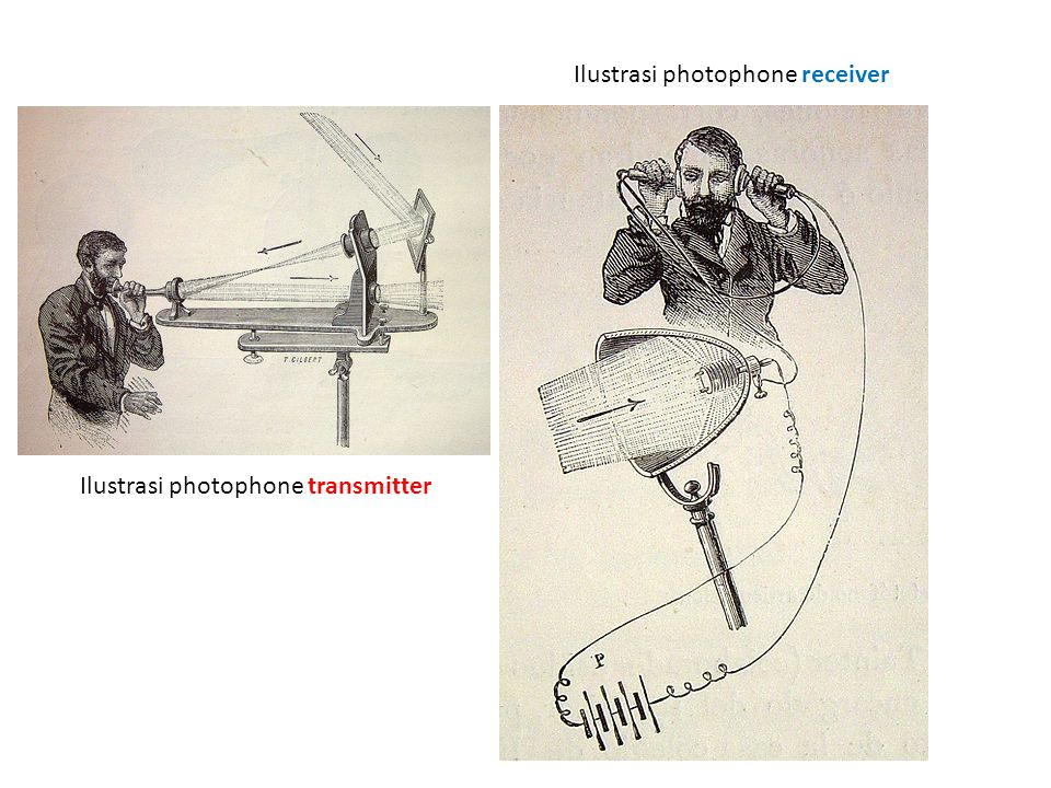 Ilustrasi photophone receiver