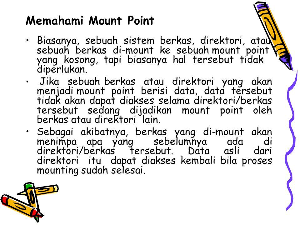 Memahami Mount Point