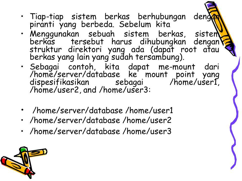 /home/server/database /home/user1