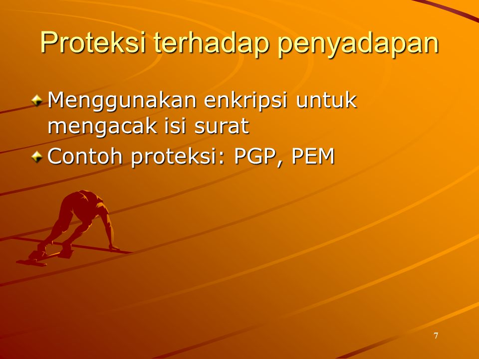 Proteksi terhadap penyadapan