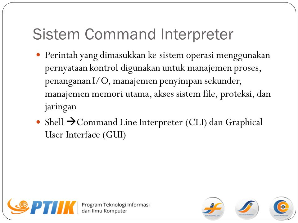 Sistem Command Interpreter