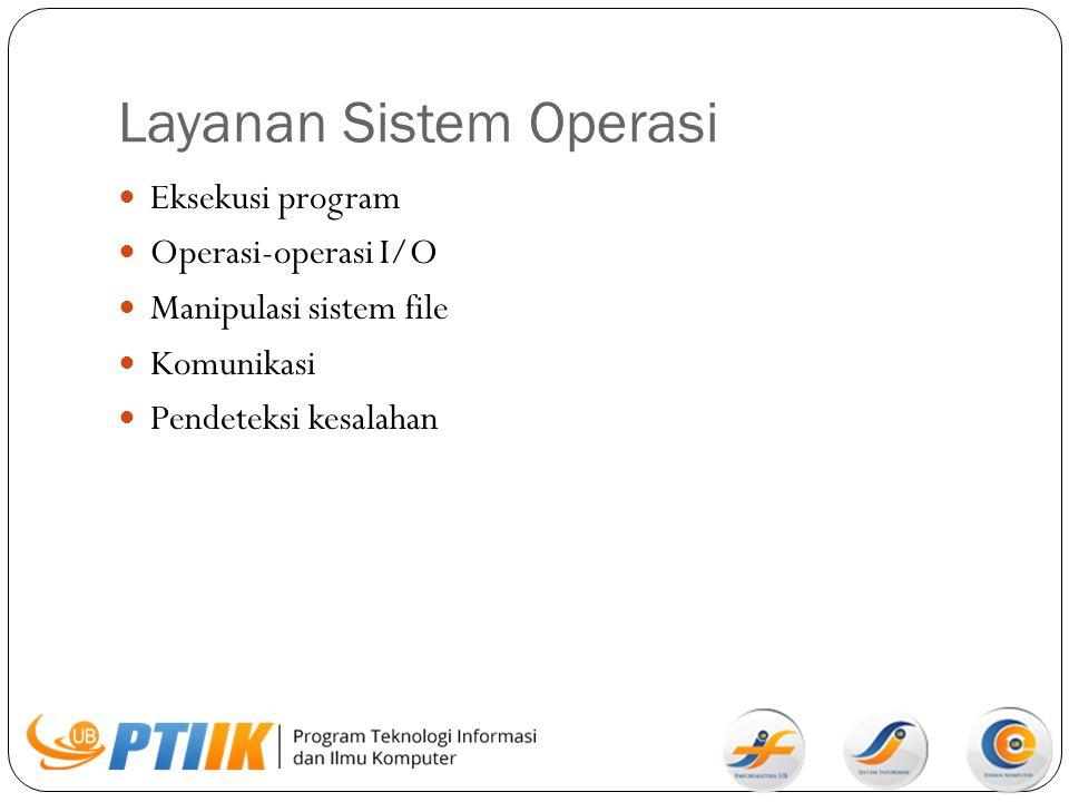 Layanan Sistem Operasi