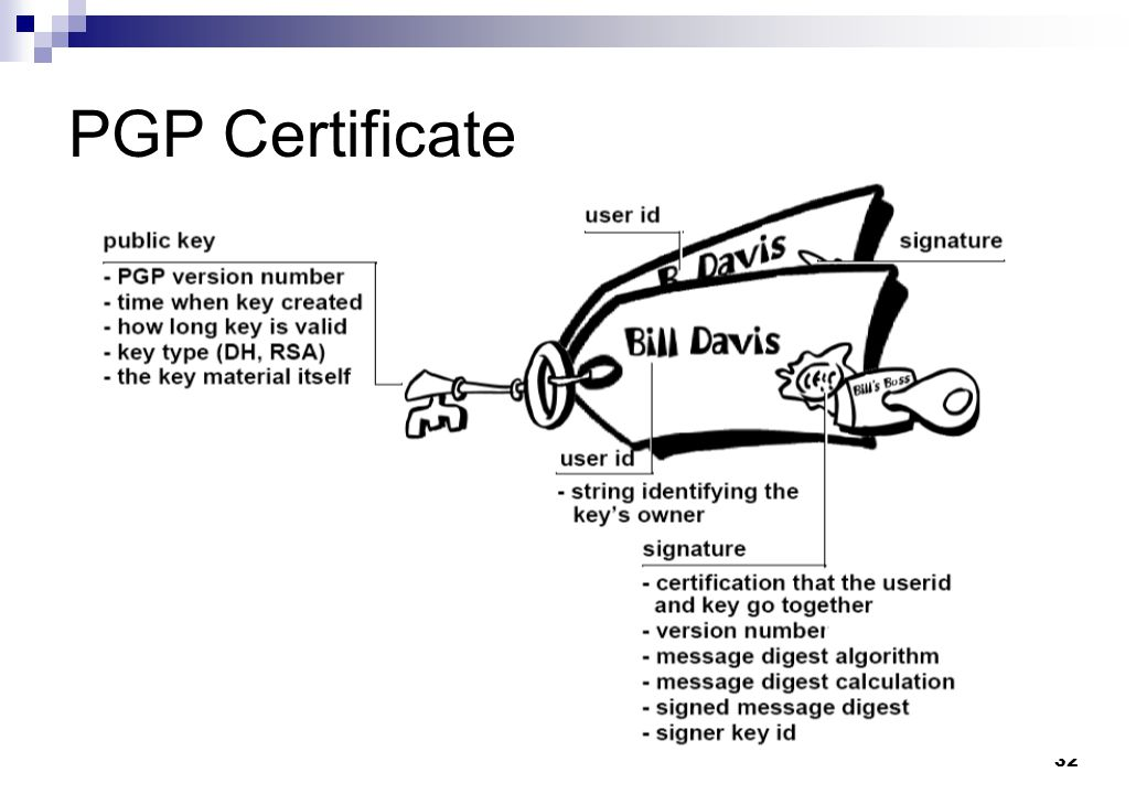 PGP Certificate