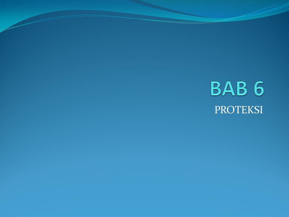 BAB 6 PROTEKSI