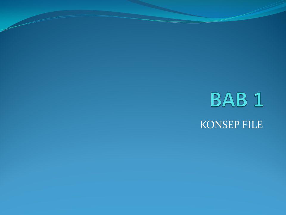 BAB 1 KONSEP FILE