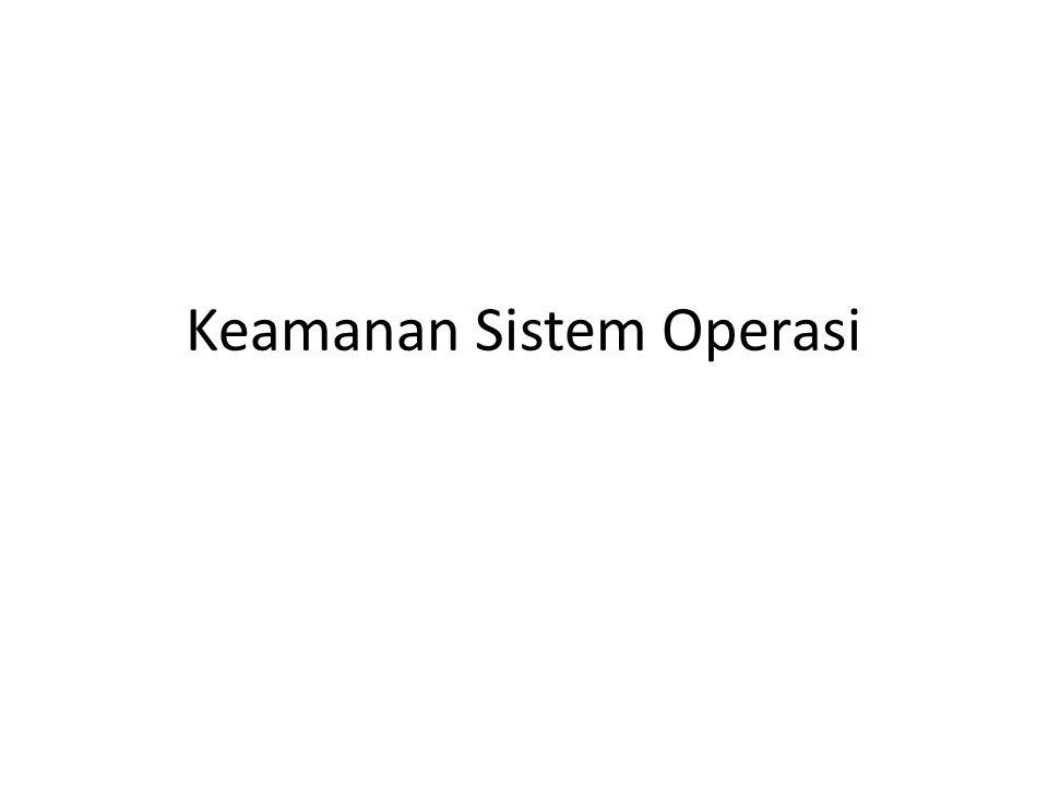 Keamanan Sistem Operasi