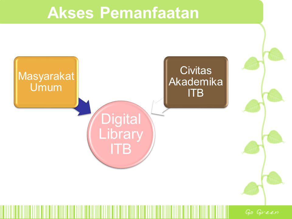 Akses Pemanfaatan Digital Library ITB Masyarakat Umum
