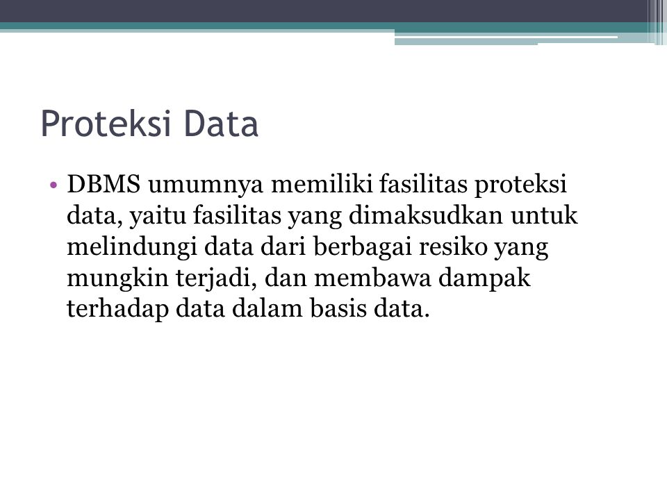 Proteksi Data
