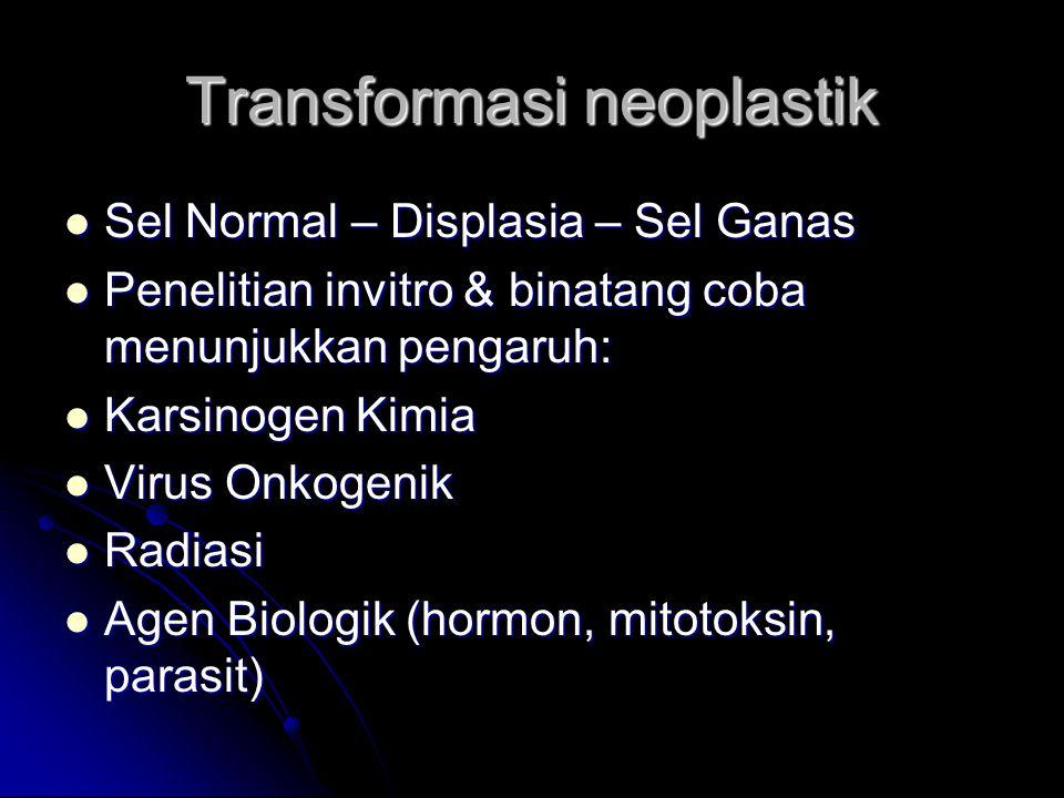 Transformasi neoplastik