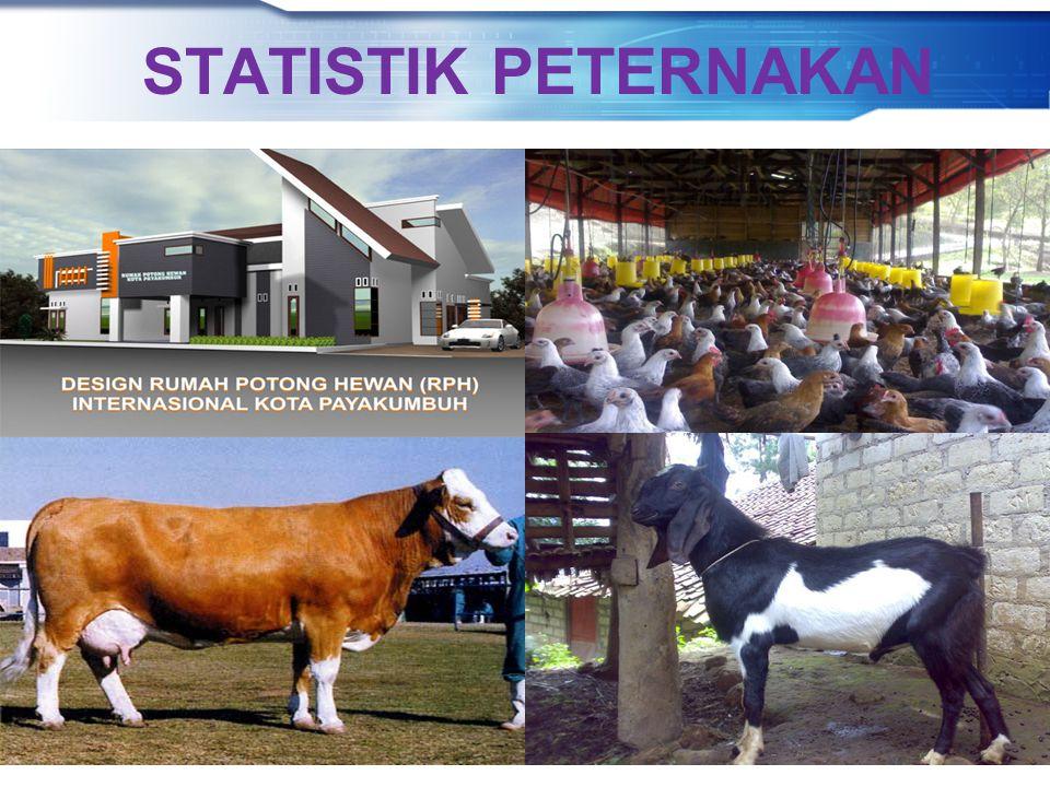STATISTIK PETERNAKAN