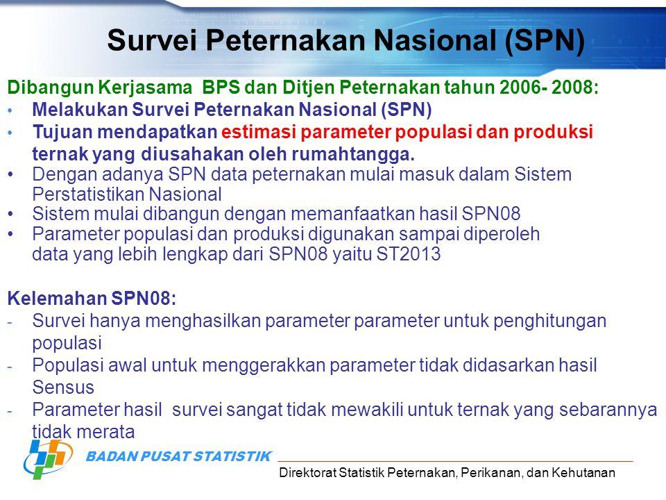 Survei Peternakan Nasional (SPN)