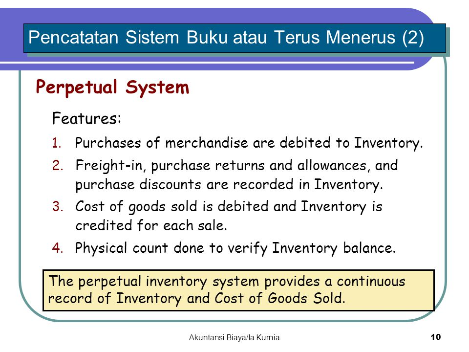 Pencatatan Sistem Buku atau Terus Menerus (2)