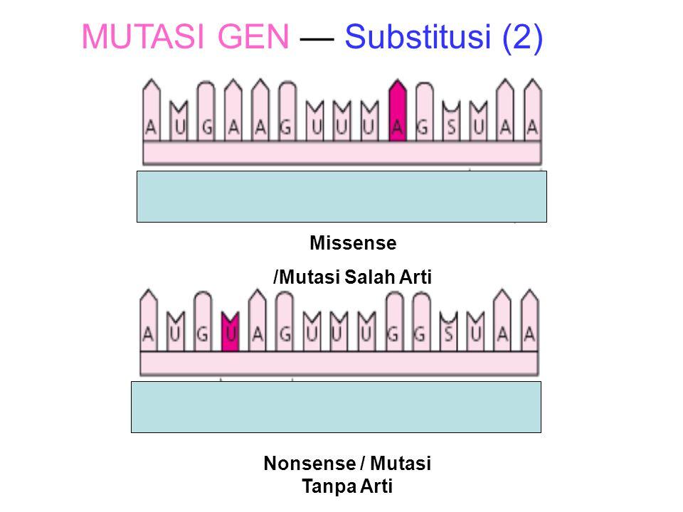 Nonsense / Mutasi Tanpa Arti