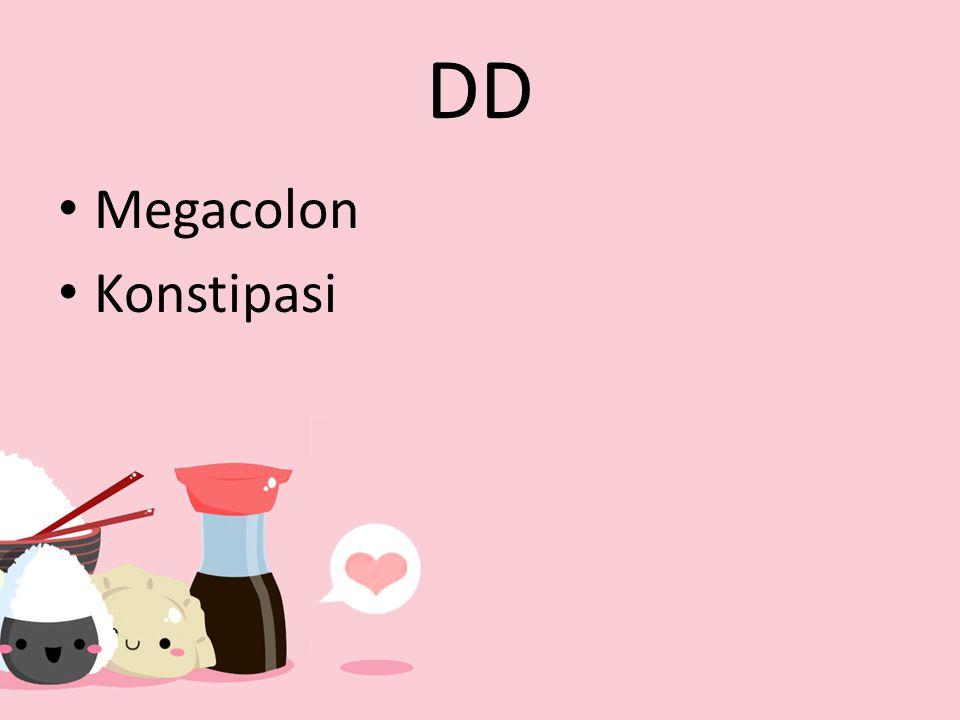 DD Megacolon Konstipasi