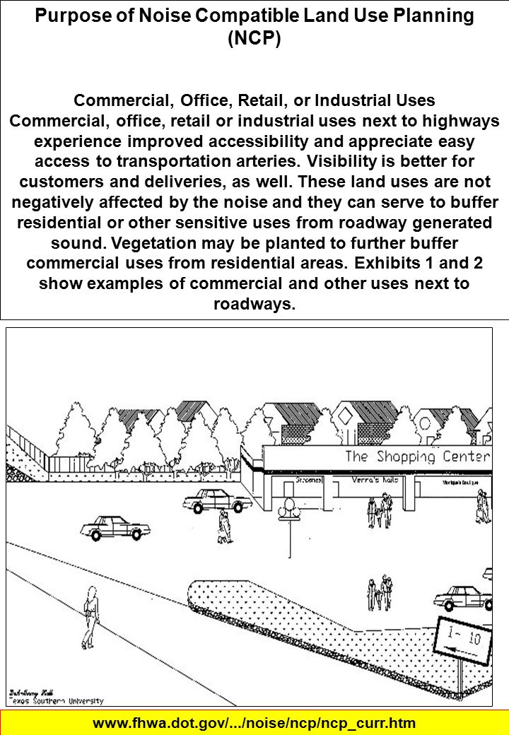 Purpose of Noise Compatible Land Use Planning (NCP)