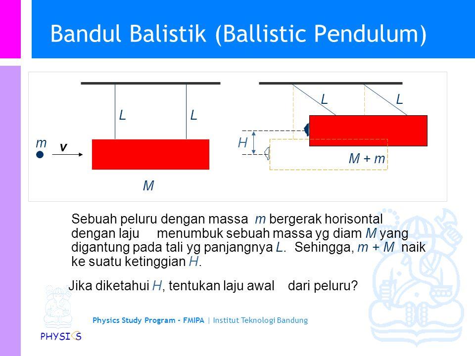 Bandul Balistik (Ballistic Pendulum)