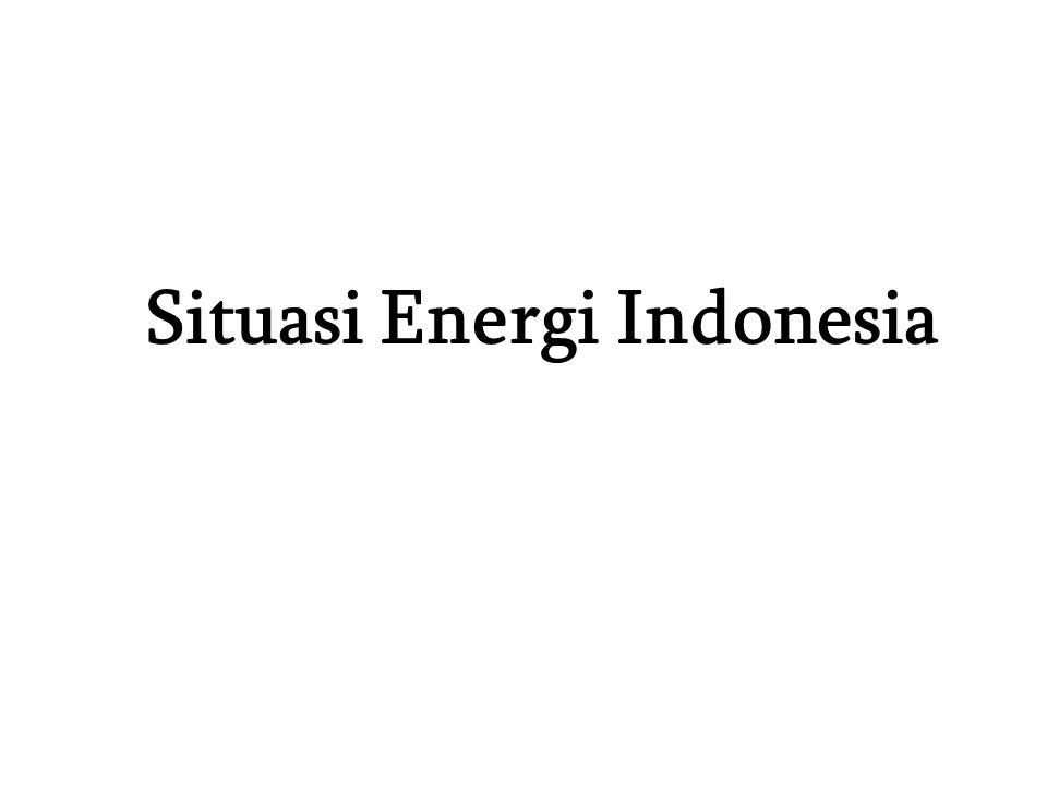 Situasi Energi Indonesia