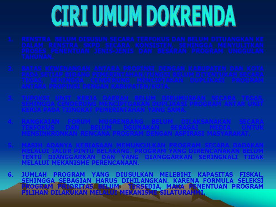 CIRI UMUM DOKRENDA