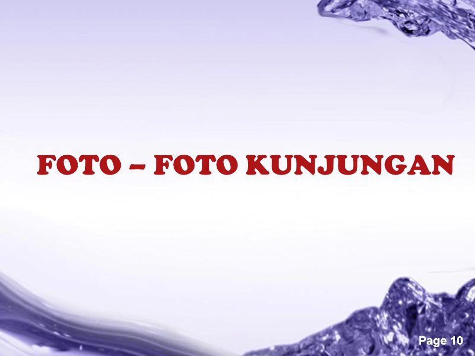 FOTO – FOTO KUNJUNGAN