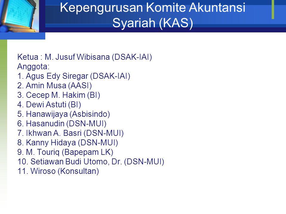 Kepengurusan Komite Akuntansi Syariah (KAS)