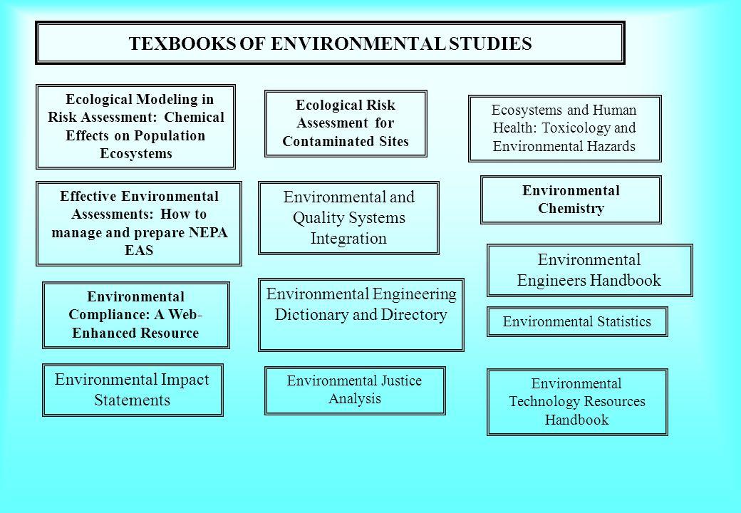 TEXBOOKS OF ENVIRONMENTAL STUDIES