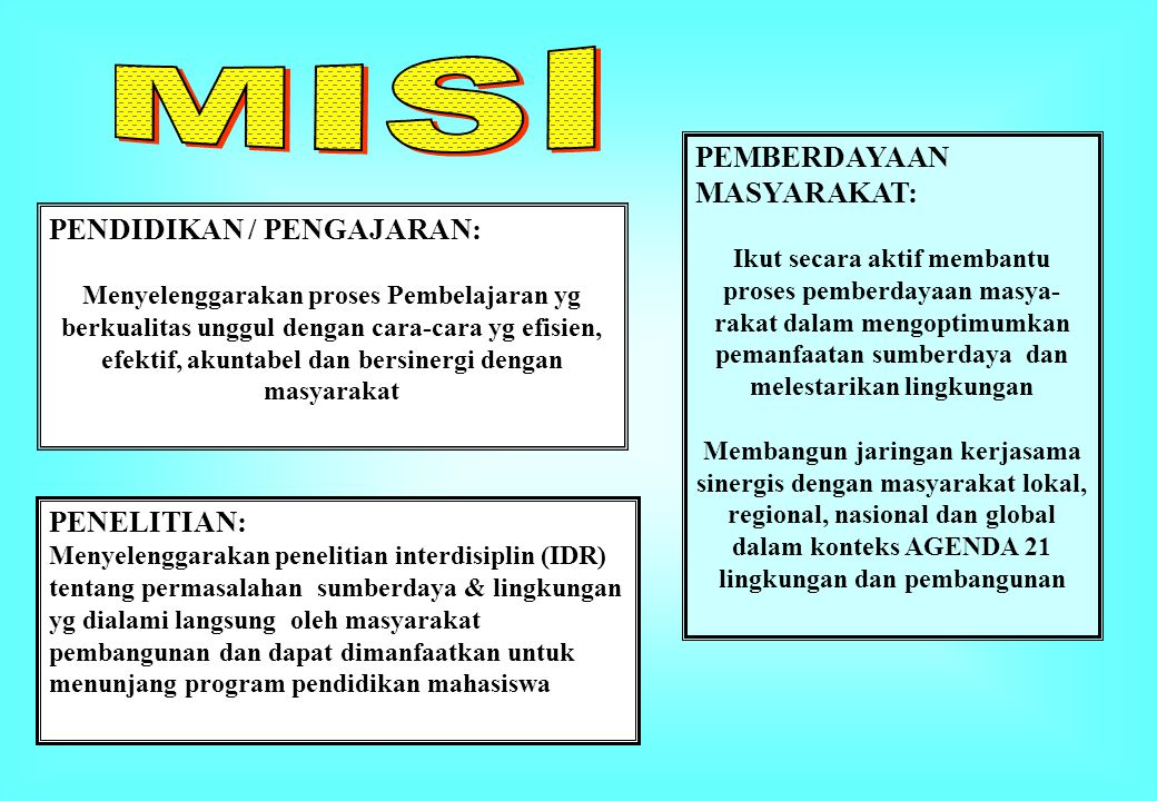 PEMBERDAYAAN MASYARAKAT: