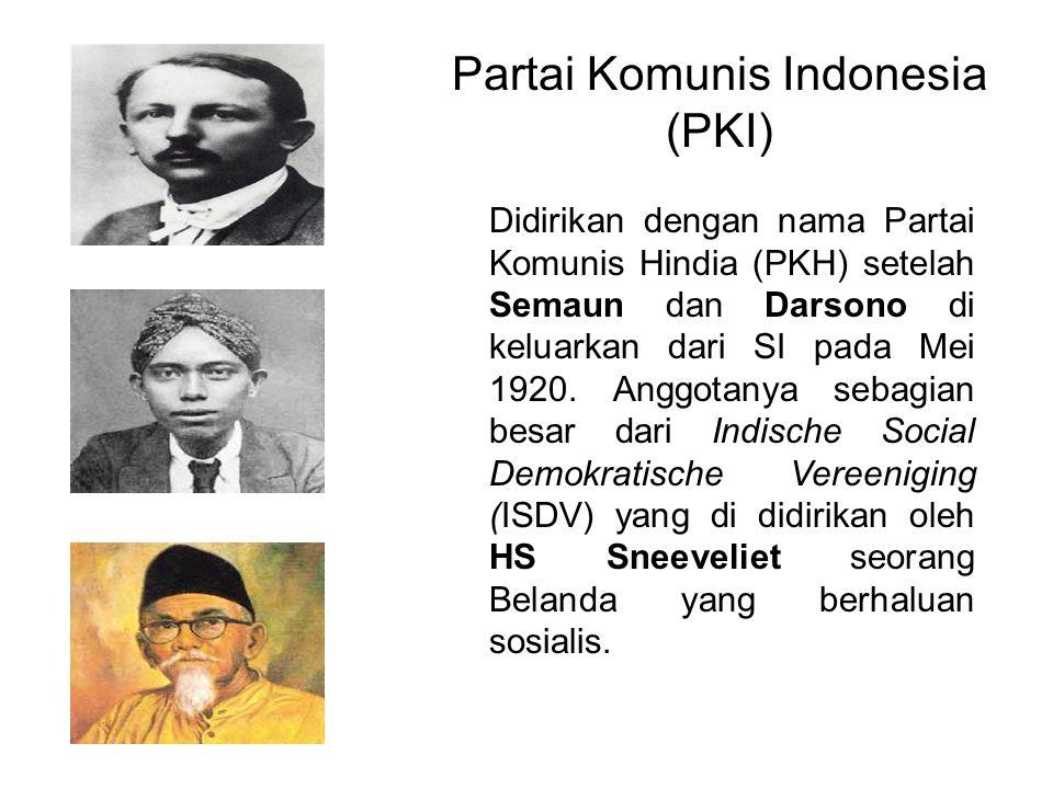 Partai Komunis Indonesia (PKI)