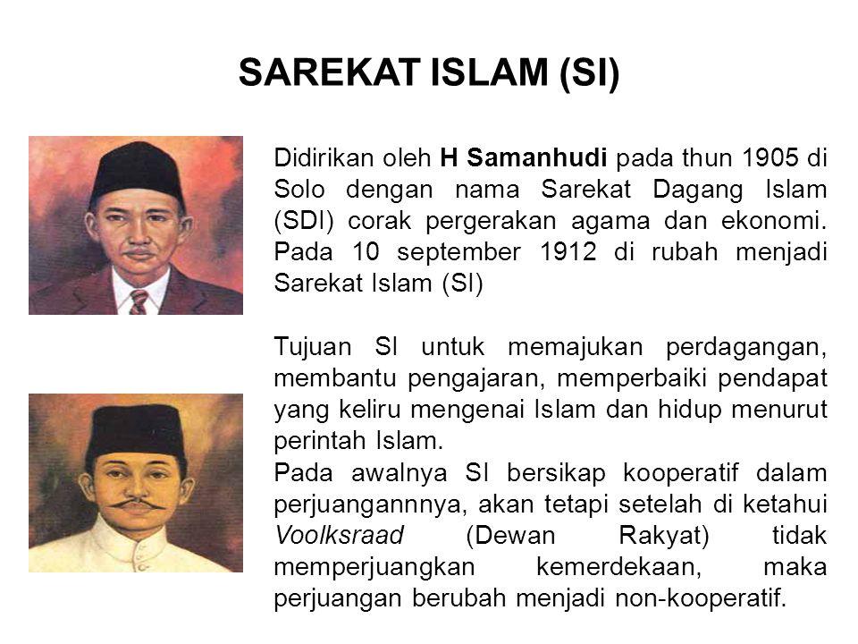 SAREKAT ISLAM (SI)
