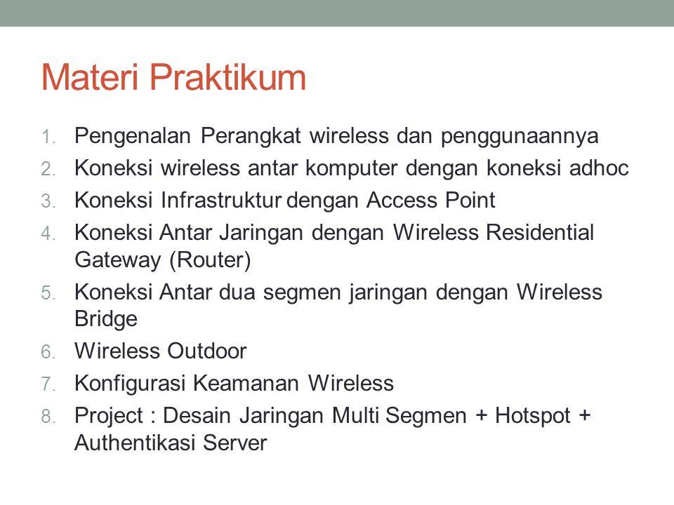 Materi Praktikum Pengenalan Perangkat wireless dan penggunaannya