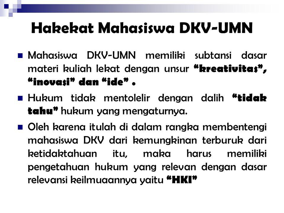 Hakekat Mahasiswa DKV-UMN