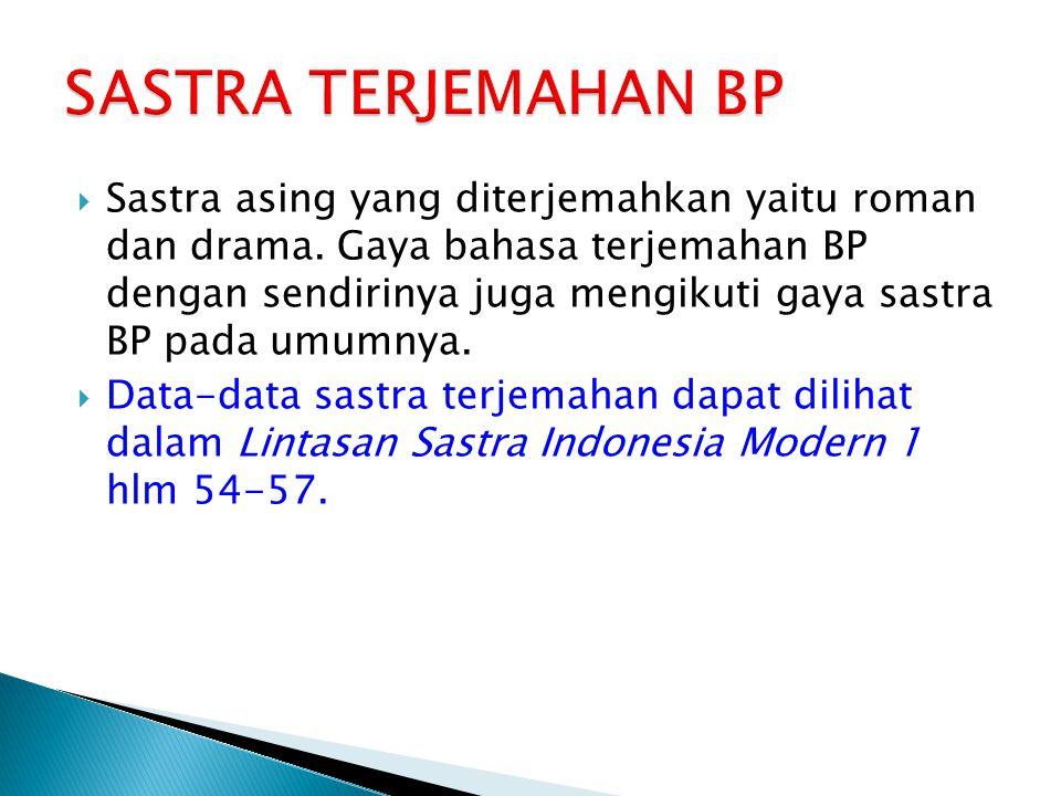 SASTRA TERJEMAHAN BP