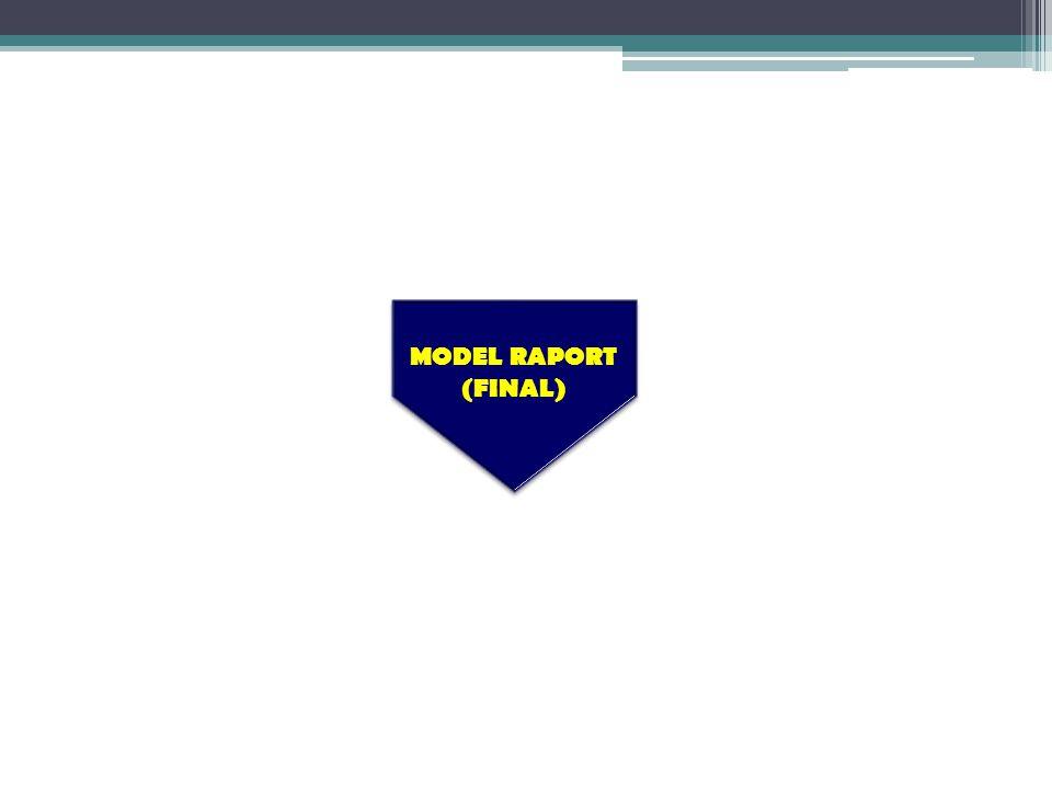 MODEL RAPORT (FINAL)