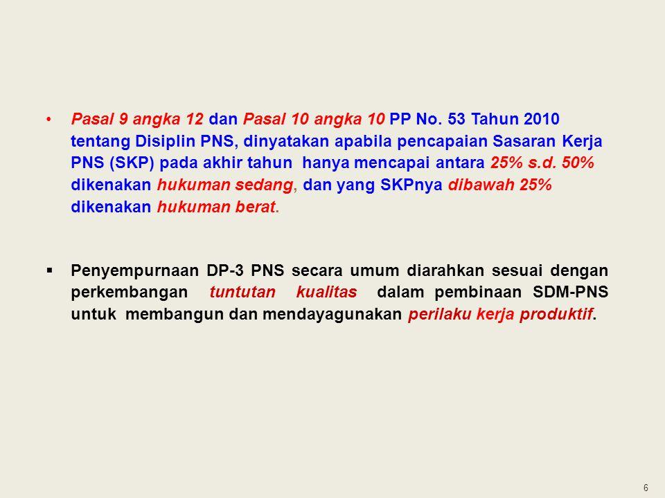 Pasal 9 angka 12 dan Pasal 10 angka 10 PP No