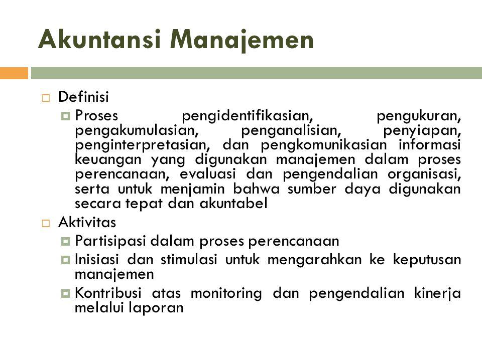 Akuntansi Manajemen Definisi