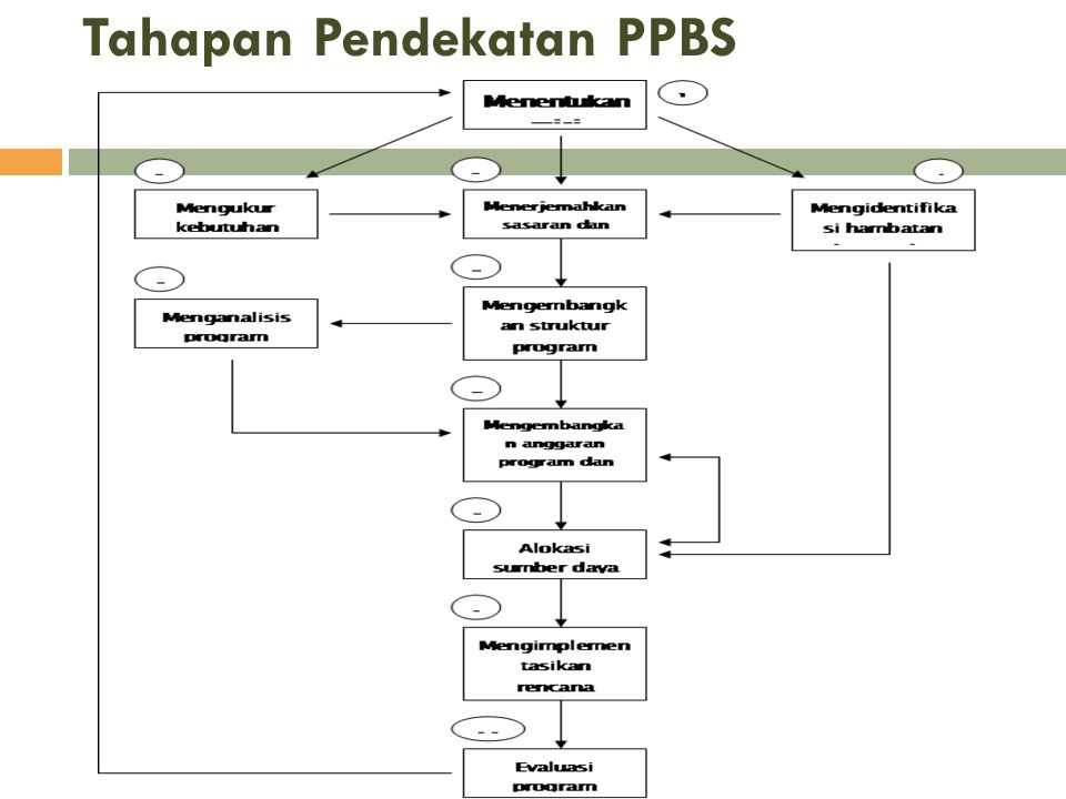 Tahapan Pendekatan PPBS